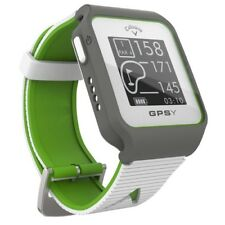 2018 Callaway Gpsy Watch Sport Gps Golf Rangefinder Watch - White/Lime