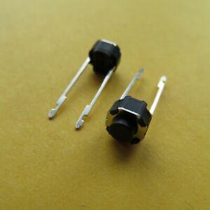 10stk 6x6x5mm DIP Taster Druckschalter Schalter switch mittlere lange pin button