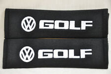 Volkswagen VW Golf Embroidery Seat Belt Cover Shoulder Pads Set