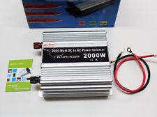 Inversor de corriente coche 12V DC 220V AC 2000W USB Convertidor Conversor 4134