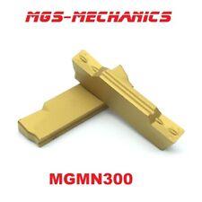 10 Wendeplatten MGMN150 G MGMN200 G MGMN300 G auch f. Alu   MGMN200 G blue nano