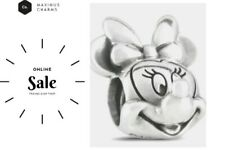 AUTHENTIC DISNEY PANDORA S925 ALE STAMPED Minnie Mouse CHARM GIFT bead NEW