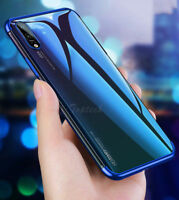 Luxury Hybrid Case Cover and Glass Screen Protector - Huawei Y6 Y7 Prime 2018