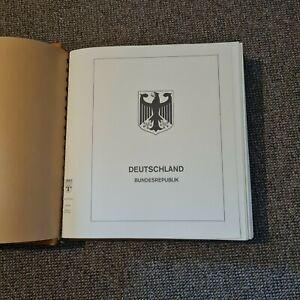 BRD Sammlung 1949-1975 gestempelt o im Lindner Falzlos Vordruckalbum