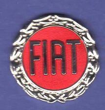 FIAT AUTO HAT PIN LAPEL PIN TIE TAC ENAMEL BADGE #1672