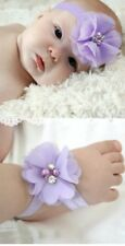 Baby Head Band , Purple Colour , Very Cute , Great For Photo Shot