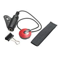Professional Piezo Contact Microphone Mic Pickup for Guitar Violin Banjo