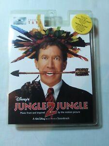 1997 JUNGLE 2 JUNGLE DISNEY MOVIE SOUNDTRACK Cassette. BRAND NEW! SEALED.