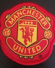 Manchester United Football Badge iron on applique or Sew on fashion