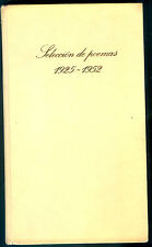 SELECCION DE POEMAS BOOK BY PABLO NERUDA 1977
