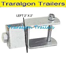 Boat Trailer 50x50 slide adjuster multi Roller mounting Bracket galvanised G191