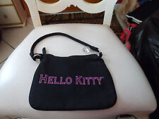 Small black Hello Kitty shoulder bag