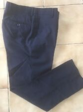 Mens / Boys Navy Trousers Dress Pants Waist Size 30R Inseam 26.5