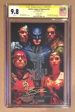 JUSTICE LEAGUE OF AMERICA #15 • CGC SS 9.8 • BEN AFFLECK • FOIL PHOTO VARIANT