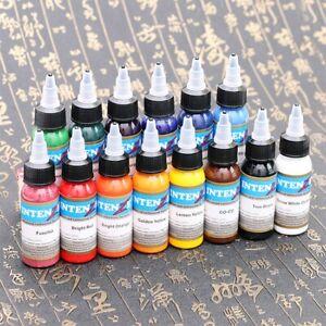 Scream 30ml Professional Tattoo Ink 14 Colors Set 30ml/Bottle Tattoo Pigment Kit