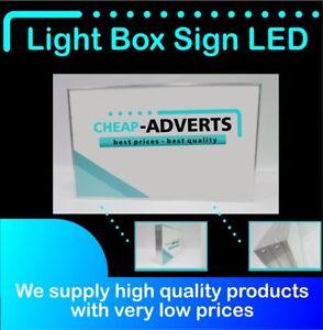 Illuminated Projecting Light Box Shop Sign Water Proof - 30 cm x 30 cm.
