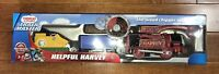 Fisher-Price Thomas and Friends Trackmaster Helpful Harvey Train New