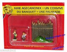 Le VILLAGE d'ASTERIX n° 58 figurine Mme AGECANONIX figurilla figure PLASTOY