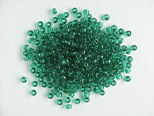Transparent Jade Green Size 8 Matsuno Seed Beads (Dyna-mites) (20g)