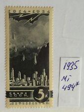 Russland & Sowjetunion 1935, Mi 494, Postfrisch mit Falz