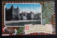 Vintage Philco Coloured Postcard - EDINBURGH ~ Holyrood Palace - Unposted VGC