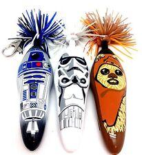 New Disney Star Wars Kooky Klicker R2D2 Wicket Ewok Imperial Stormtrooper 3 Set