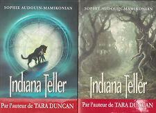INDIANA TELLER tomes 1 et 2 Sophie AUDOUN-MAMIKONIAN roman livre jeunesse
