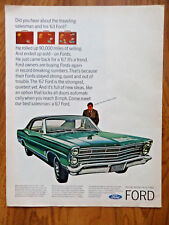 1967 Ford LTD 2 dr Ad - Traveling Salesman