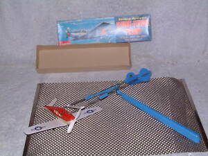CRAGSTAN, VINTAGE, FULLY ORIGINAL & OPERATIONAL STUNT-FLYING  PLANE W/BOX!