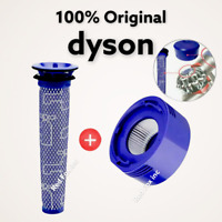 NEW GENUINE DYSON HEPA Post Motor + Cyclone Filters Dyson V7 V8 Cordless Vacuums
