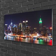 Wandbilder 100x50 Glasbild Druck auf Glas Stadt Gebäude