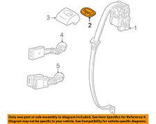 JAGUAR OEM 98-03 XJ8 Rear Seat Belt Holder Cashmere HNC7108ADSDZ
