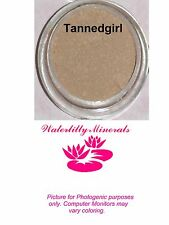 Tannedgirl Minerals Bare Makeup Foundation #2.3 Med Beige Sample Size New/Sealed