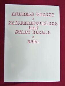 "Mappenwerk ""Andreas Gursky - Kaiserringträger der Stadt Goslar - 2008"""