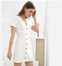 Stockholm Atelier & Other Stories White Mini Dress