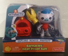 Fisher Price Octonauts Barnacles Heat Proof Suit New in package