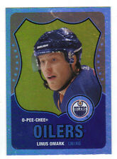10-11 OPC O-Pee-Chee Retro Rainbow Linus Omark RC #609 Update from 11-12 OPC