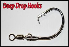 13/0 Stainless Dropline/ Deep Sea Circle Hooks 10 Pack