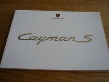 Porsche Cayman S folleto Jm