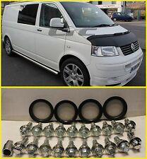 VW T5 ALLOY WHEEL BOLT CONVERSION KIT - Fit Range Rover wheels to VW T5