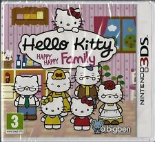Hello Kitty Happy Happy Family  Nintendo 3DS Brand NEW girls games
