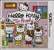 Hello Kitty Happy Happy Family  Nintendo 3DS Brand NEW girls games