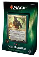Magic the Gathering MtG Commander 2018 Nature's Vengeance Deck [Black Red Green]