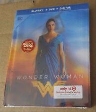 New Wonder Woman 2D Blu-ray/DVD Lenticular Digibook Target Exclusive
