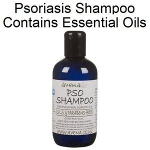 Psoriasis Scalp Shampoo SLS Parabens Free Natural Essential Oils