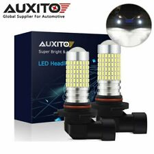 2x AUXITO 9006 HB4 144SMD LED Fog Light Bulb Front 6000K Xenon White High Power