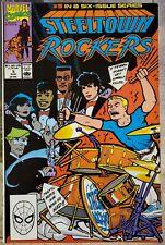 Steeltown Rockers #5 VF  Marvel Comics 1990