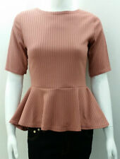Casual Cropped Fitted Tops & Shirts Size Petite for Women