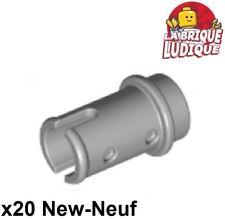 Lego technic - 20x pin axe axle clip clips 1/2 gris/light bluish gray 4274 NEUF