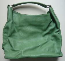 PREGO Tasche Leder grün Beuteltasche Schultertasche